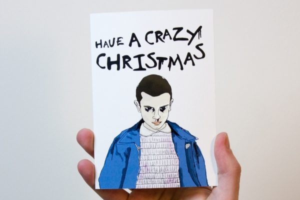Stranger Things Christmas Card
