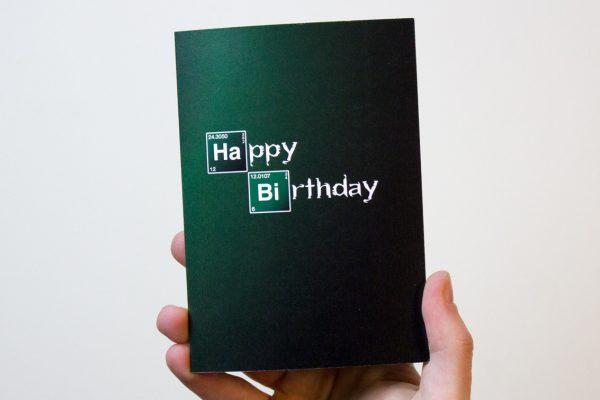 Breaking Bad Birthday Card