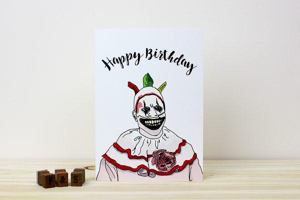 American Horror Story Birthday Card
