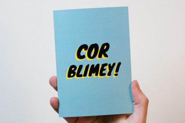 Cor Blimey Card