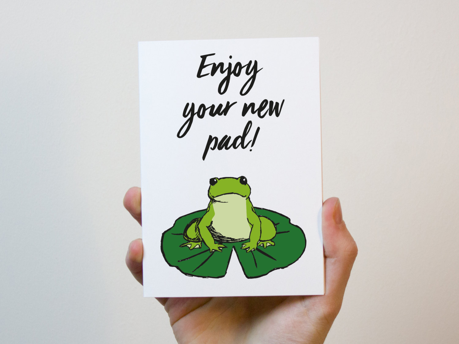 enjoy your new pad card new home card first home card moving