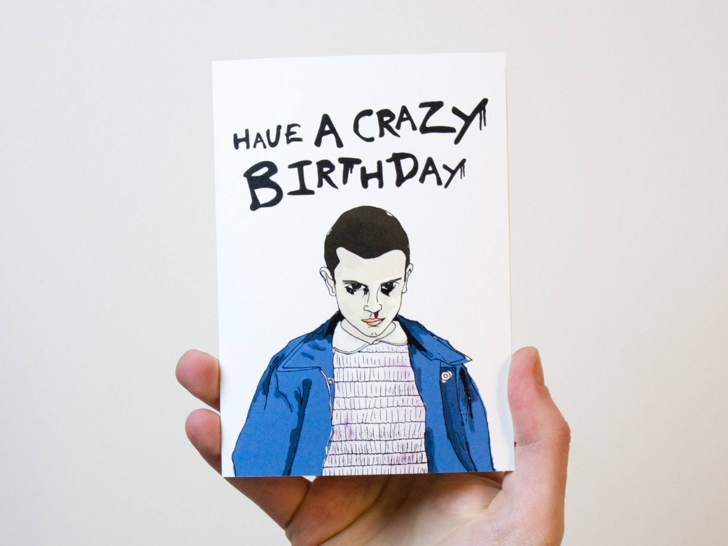Grim reaper birthday card funny birthday card offensive birthday stranger things birthday card stranger things card bookmarktalkfo Image collections