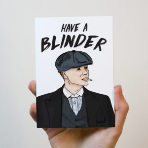 Peaky Blinders Card
