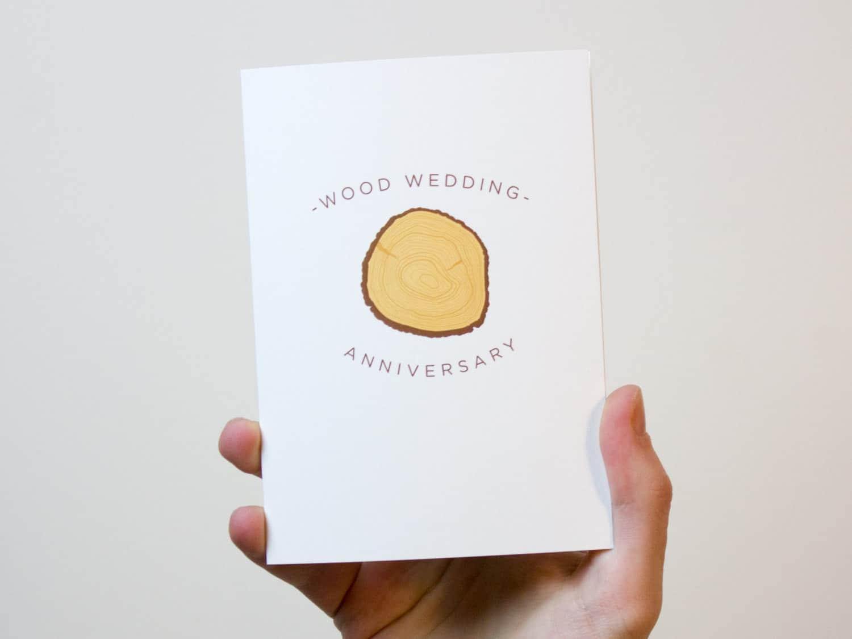 5 year anniversary card