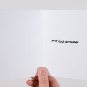 Rihanna Birthday Card